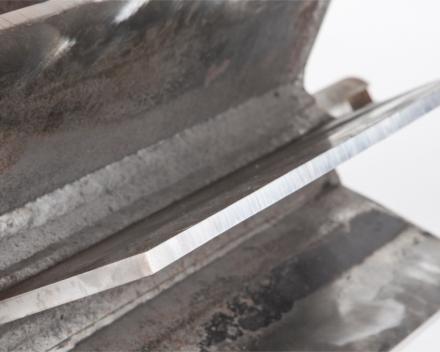 Detail gereviseerde rotor