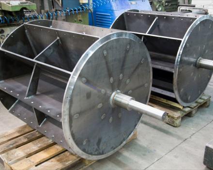 Voorbeeld van een gesloten rotor