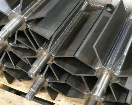 Herstelde rotors draaisluizen